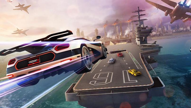 دانلود آسفالت 8 جدید 2021 بازی مسابقه ماشین سواری