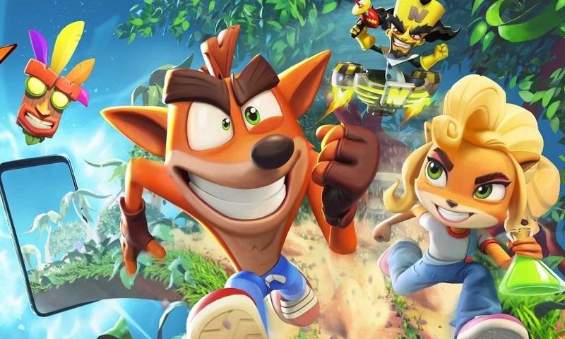 دانلود بازی کراش جدید 2021 Crash Bandicoot گوشی اندروید