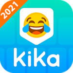 دانلود صفحه کلید کیکا جدید 2021 Kika Keyboard